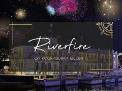 Riverfire 2021 on Kookaburra Queen III