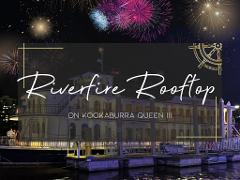 Riverfire Rooftop 2021 on Kookaburra Queen III
