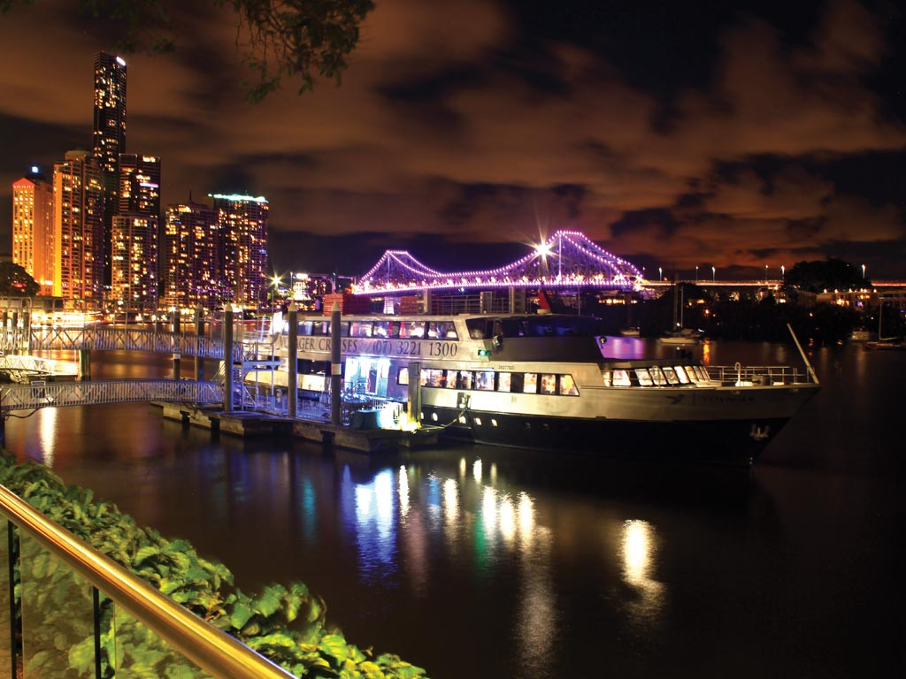 City Lights Dinner Cruise on Voyager