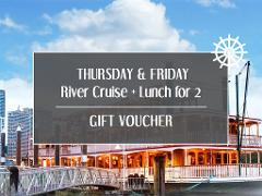 Gift Card - Weekday River Cruise + Lunch  for 2