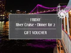 Gift Card - Friday River Cruise + Dinner for 2
