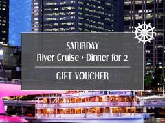 Gift Card - Saturday River Cruise + Dinner for 2