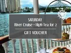 Gift Card - Saturday River Cruise + High Tea for 2