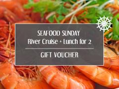 Gift Card - Seafood Sunday River Cruise + Lunch for 2