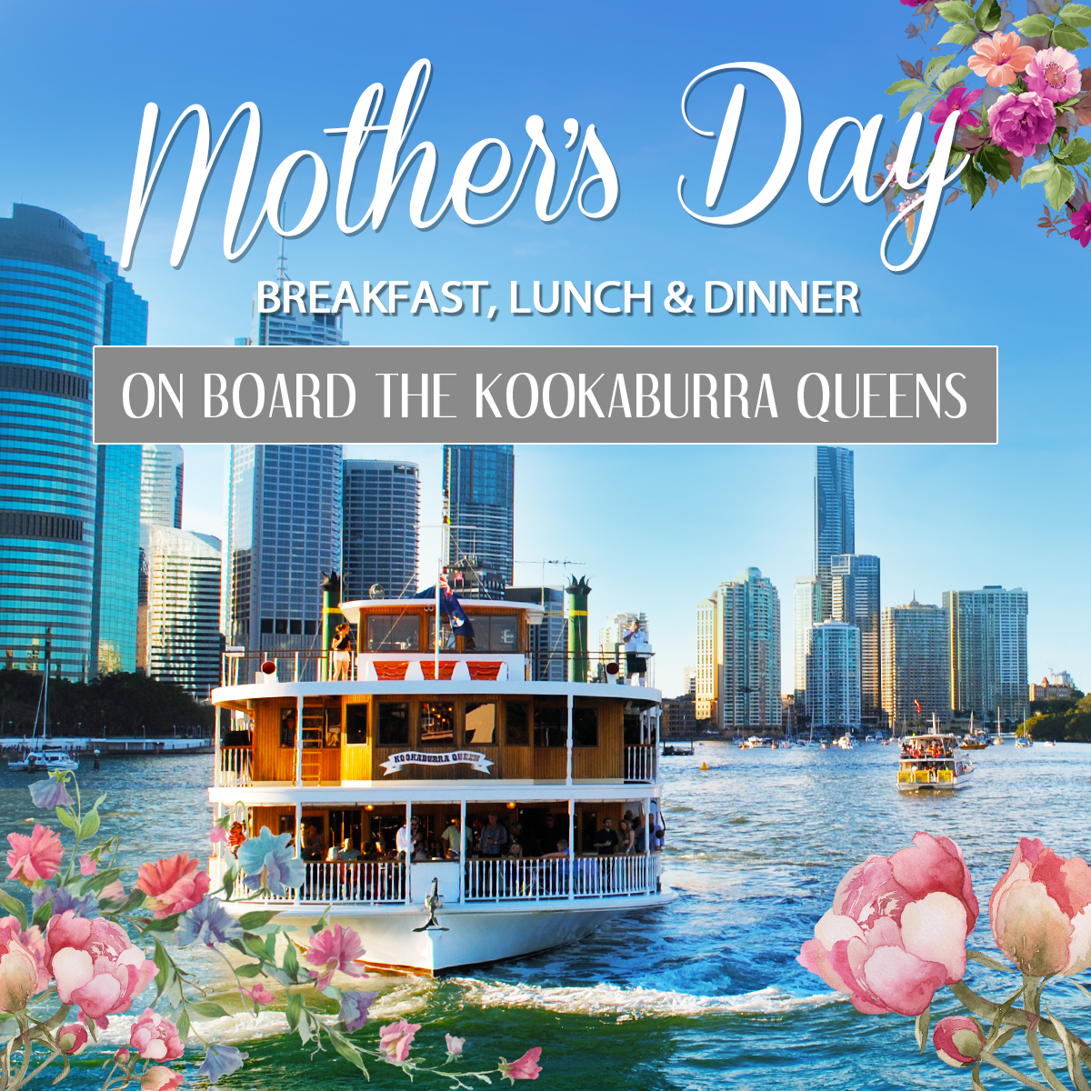 Mothers Day Breakfast Cruise