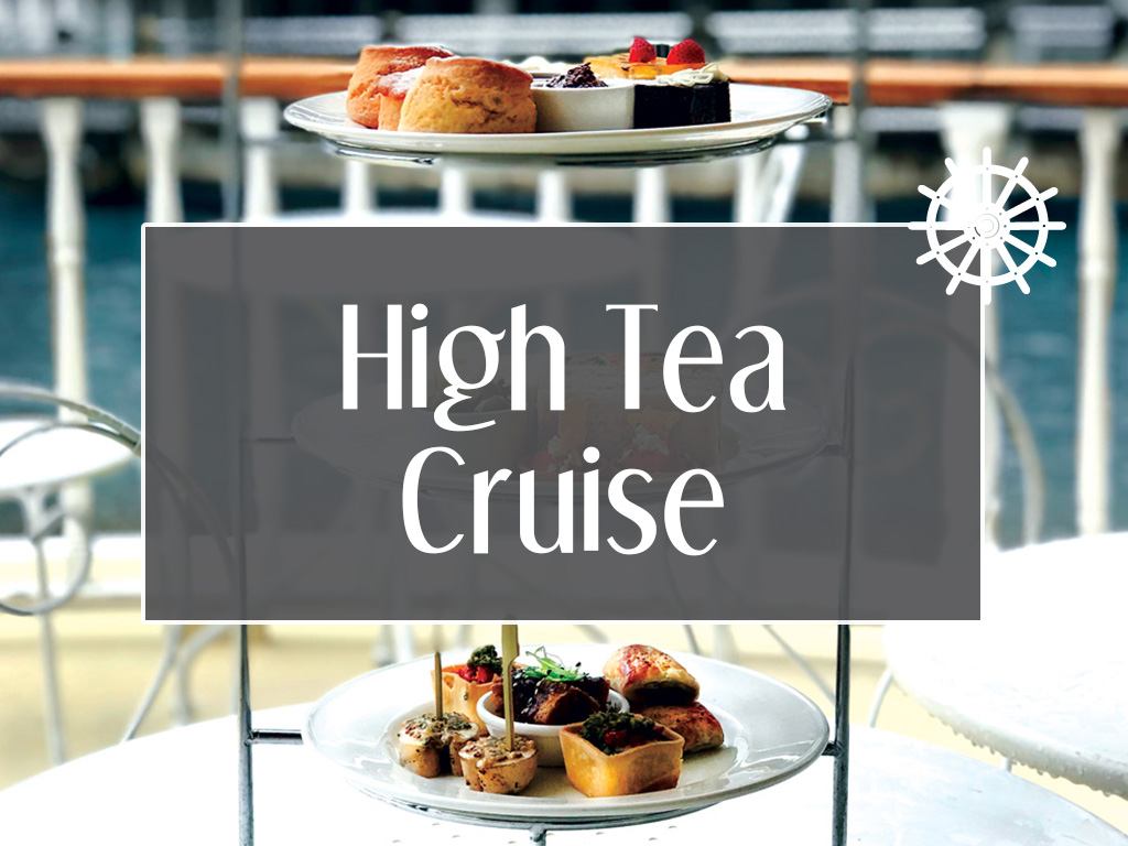 High Tea Cruise on the Brisbane River