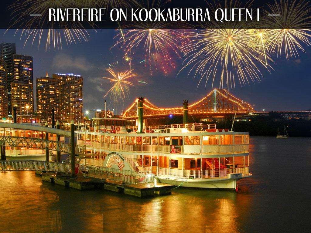 Riverfire on Kookaburra Queen I