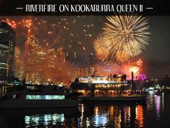 Riverfire on Kookaburra Queen II
