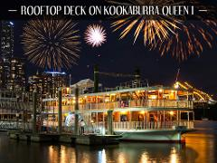 Riverfire - Rooftop Deck on Kookaburra Queen I
