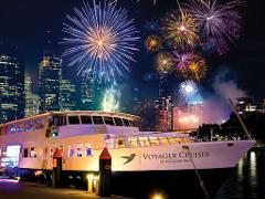 New Years Eve Dinner Cruise on Voyager