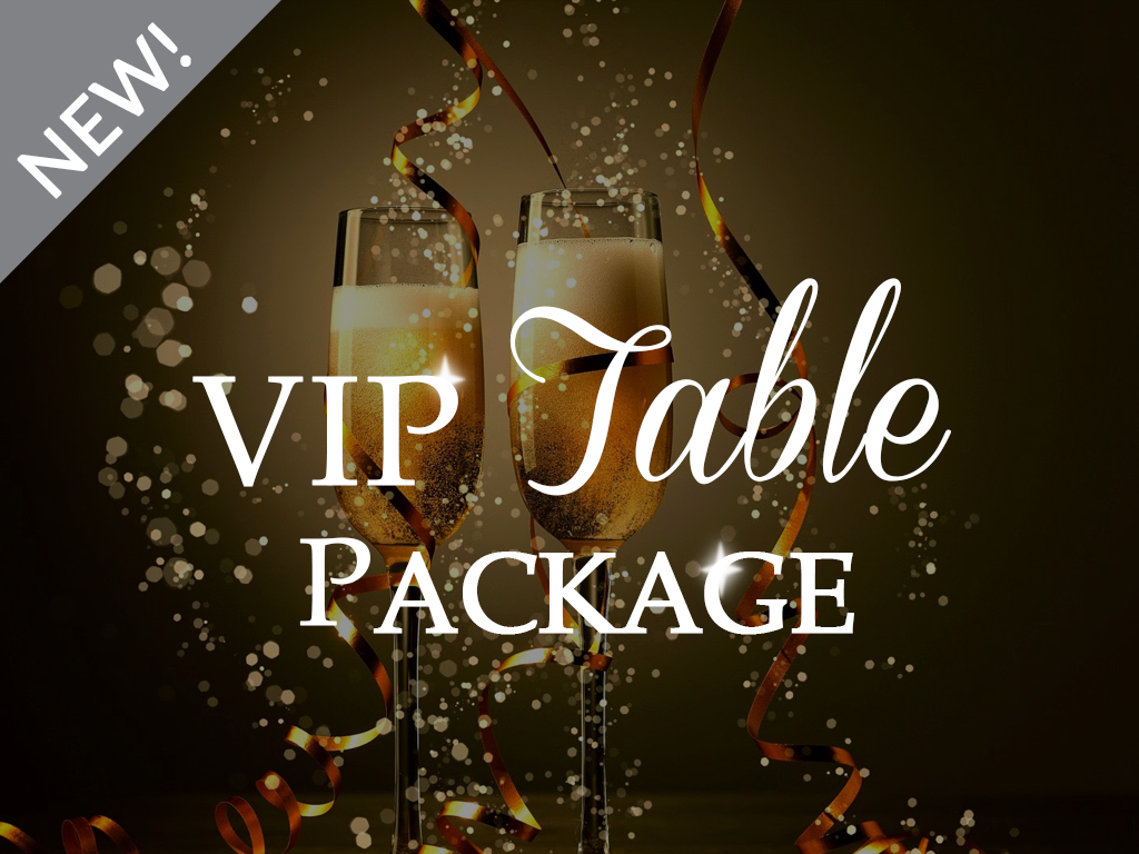 VIP Table Package - Dinner