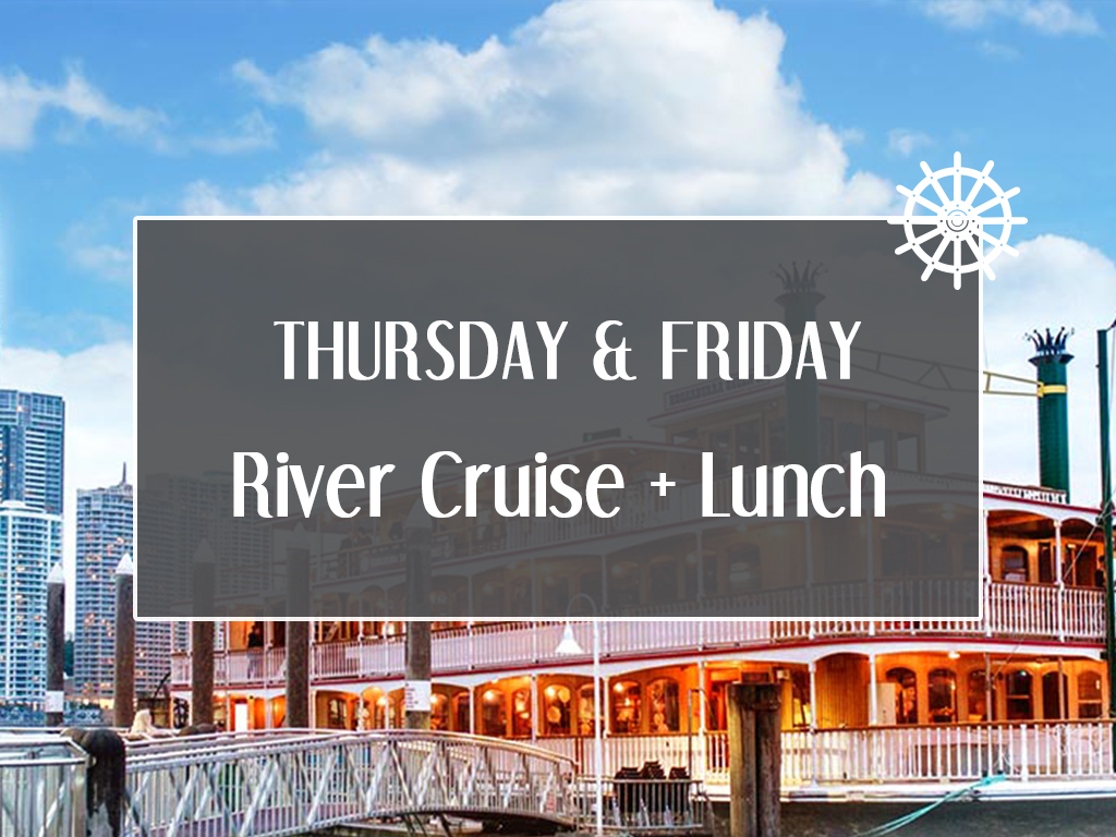 Weekday River Cruise + Lunch