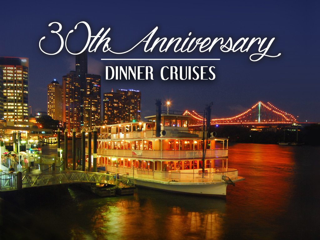 30th Anniversary City Lights Dinner Cruise in April