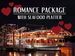Gift Card - Romance package for two with Seafood Platter
