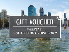 Gift Card - Weekend Sightseeing Cruise for 2