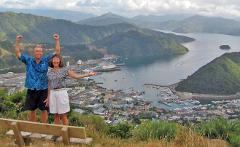 Picton Cruise Ship Excursion - Marlborough Wine Tour PRIVATE GROUP TOUR
