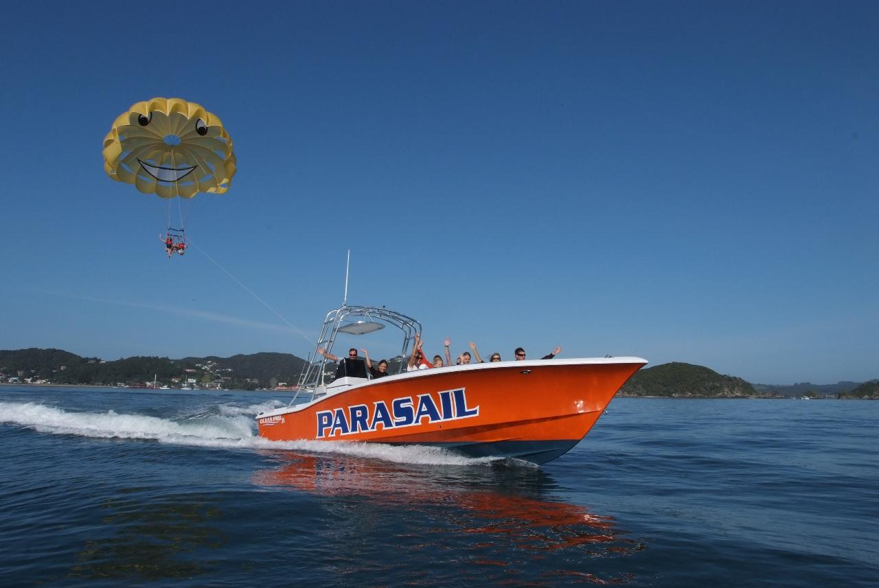 Private Chartered Parasail trip
