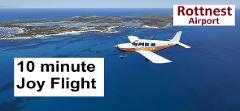 Rottnest Island 10-minute Scenic Joy Flight for 2