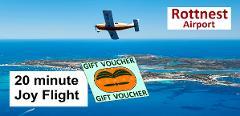 Rottnest Island 20-minute Scenic Joy Flight for 2