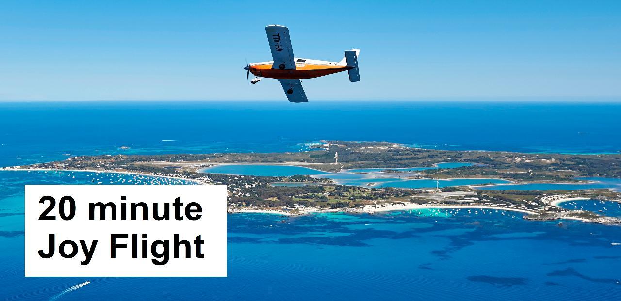 ○○ Rottnest Island 20-minute Scenic Joy Flight