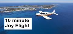 GIFT VOUCHER   Rottnest Island 10-minute Scenic Joy Flight for 2