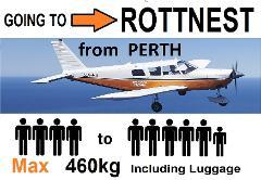 [►] Perth (Jandakot) to Rottnest - 4 to 6 passengers - Flexible Times