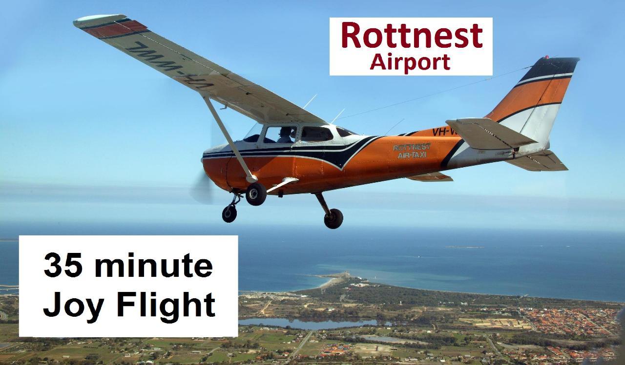 ○○○ Rottnest Island and City 35-minute Scenic Joy Flight