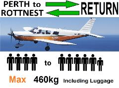 [►] Perth to Rottnest AND RETURN, 4 to 6 passengers - FLEXIBLE Times - FLEXIBLE Days.