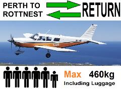[►] Perth to Rottnest AND Return, 4 to 6 passengers - Flexible Times