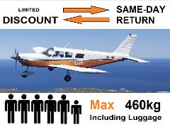 [◄►] Special Discount Perth to Rottnest AND Return - 4 to 6 passengers - Fixed Times, Day-trip Only.