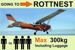 › Perth to Rottnest - 1 to 3 Passengers