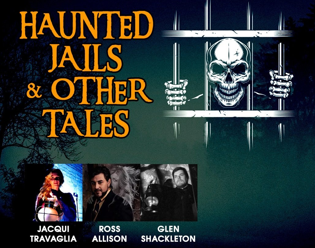 RECORDED VIRTUAL HAUNTED CAMPFIRES: Haunted Jails & Other Tales