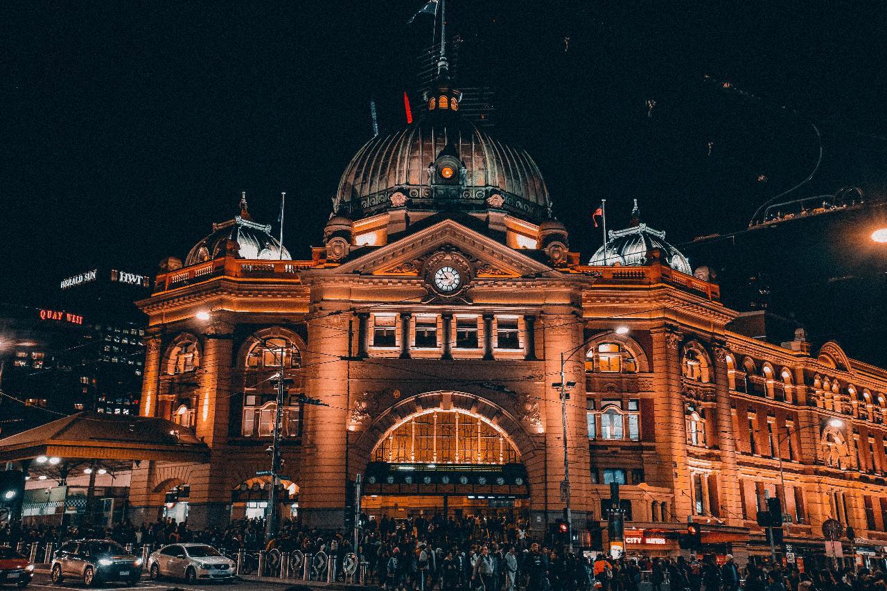 Questo self-guided Haunted Melbourne
