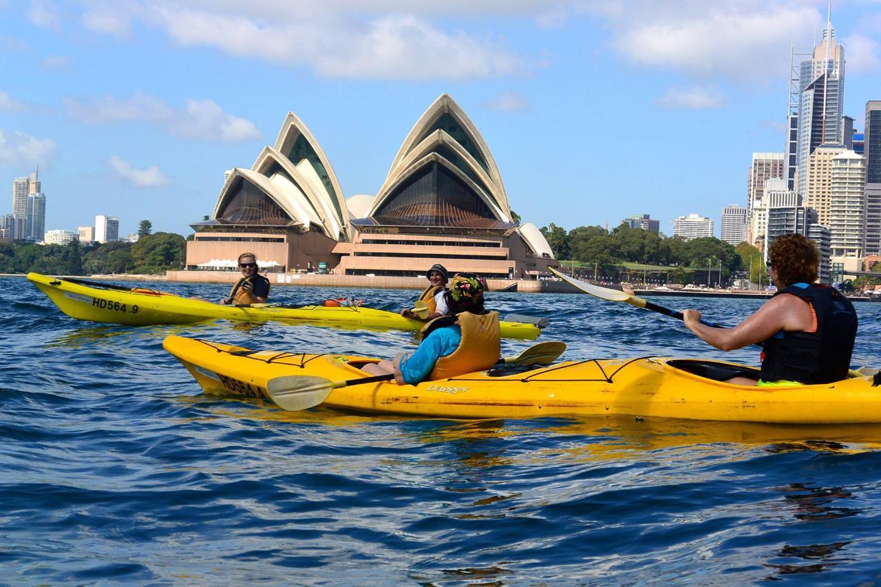Under the Sydney Harbour Bridge Kayak Adventure