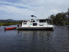 33' Houseboat up to 6 people (Max 4 adults)