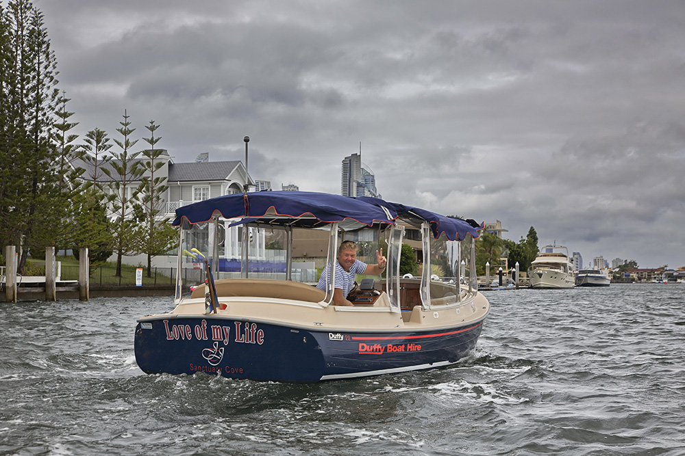 Duffy Boat  - Limo on the Water- Luxury Private Skippered Cruise