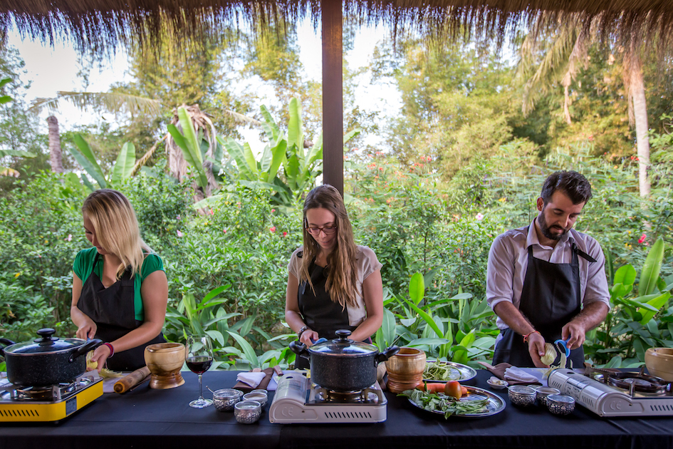 Cambodian Cook-Out - A unique countryside cooking and dining experience