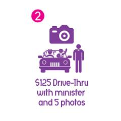 Drive Thru Ceremony: Minister and 5  Digital Photos