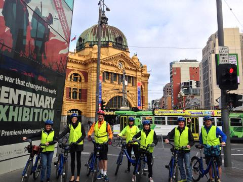 2hr Melbourne at a glance bike tour
