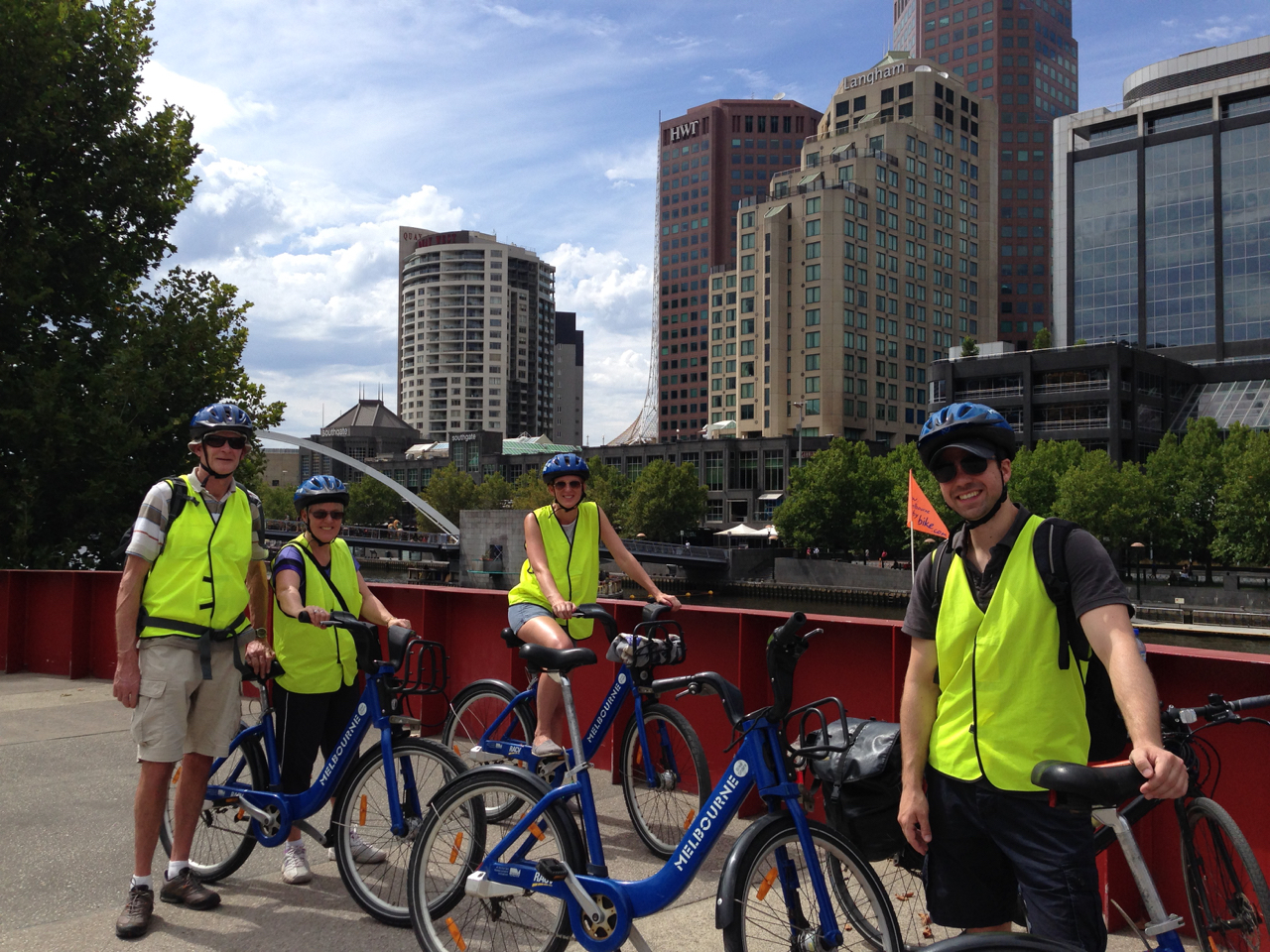 Melbourne 2hour River Loop tour - City Cycle Tours