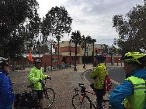 Capital City Trail - Melbourne By Bike Tour - Docklands start