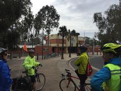 Capital City Trail  - ride the Yarra River - Docklands start