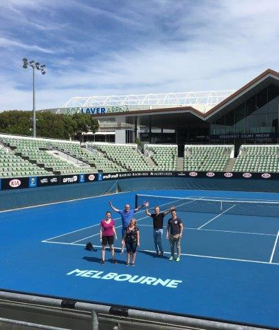Tennis Lovers Tour of Melbourne - Private Group