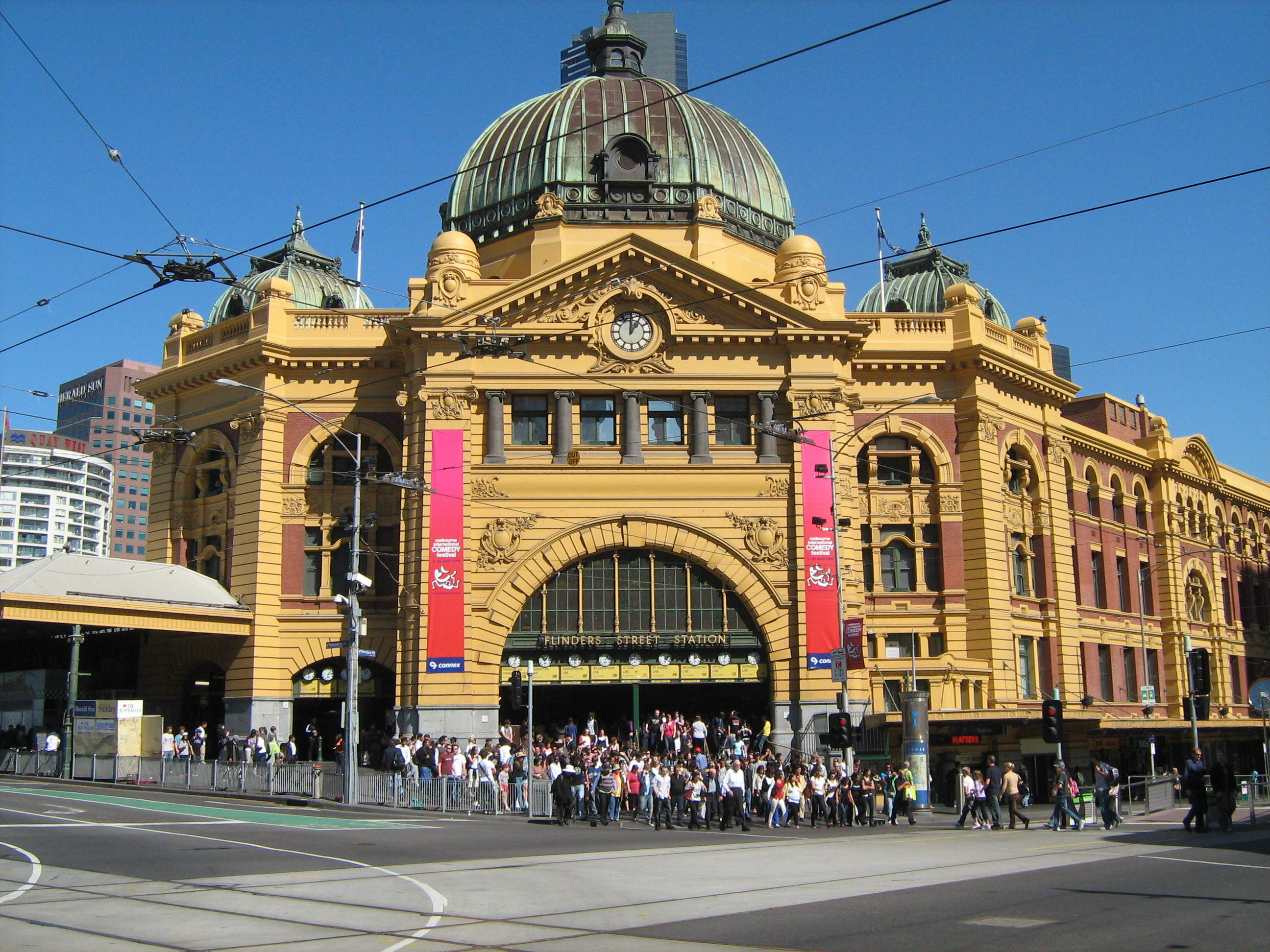 flinders st station tour meltours reservations. Black Bedroom Furniture Sets. Home Design Ideas