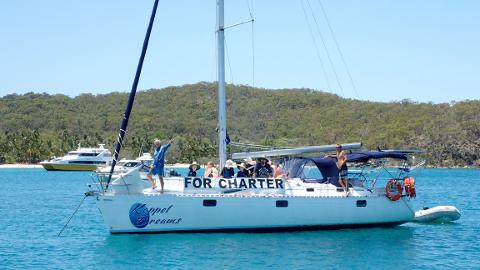 Two day / one night charter. Sailing, snorkeling and island adventure