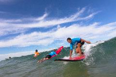 Group Lesson Nobbys Beach