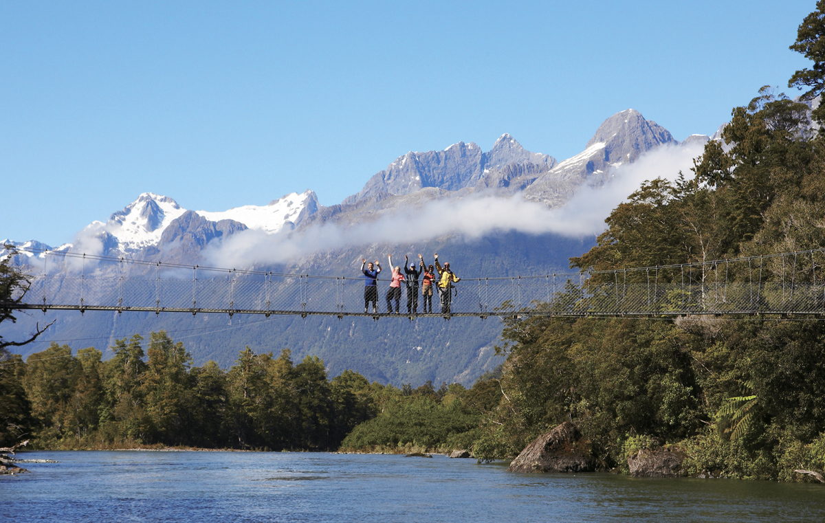 Hollyford Track 3 Day Guided Walk