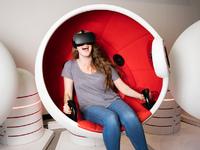 The VR Orbit ride (1 turn)