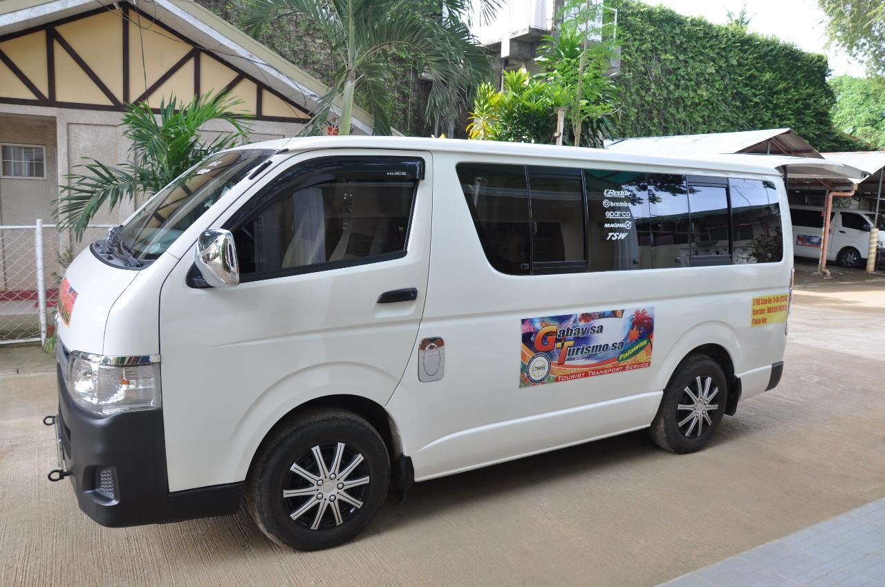 Private arrival Airport Transfer From Puerto Princesa city airport to City center hotels