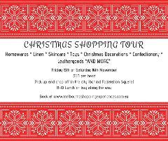 Christmas Shopping Tour